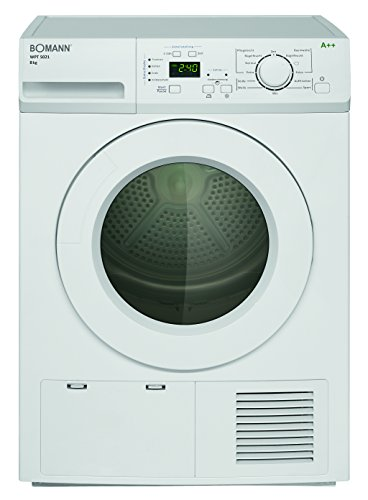 Bomann WPT 5021 Wärmepumpentrockner / A++ / 8 kg / weiß