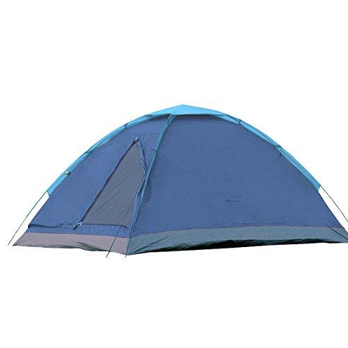 Camp Active Dome Zelt für 2 Personen ca. 185x120x100 cm (LxBxH) - Kuppelzelt in Blau