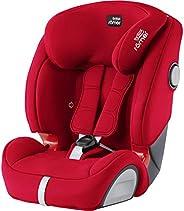 Britax Römer EVOLVA 1-2-3 SL SICT Group 1-2-3 (9 Months to 12 Years)/(9-36kg) Car Seat - Fire Red