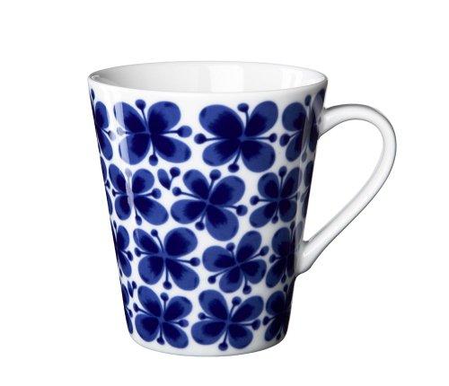 Rörstrand Mon Amie Becher mit Henkel, Henkelbecher, Kaffeebecher, Kaffeetasse, Porzellan, 340 ml, 1012273