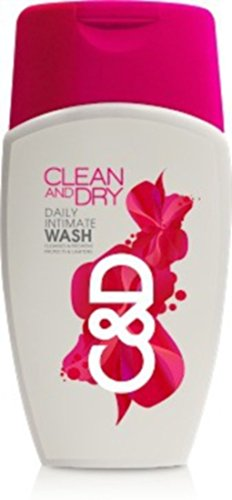 Clean And Dry Daily Intimate Wash 100ml  available at amazon for Rs.143
