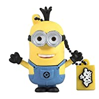 Tribe FD021407 Minion Dispicable Me Pendrive Figure 8GB USB Flash Drive 2.0 Memory Stick Data Storage, Keyholder Keyring - Tim (Yellow)