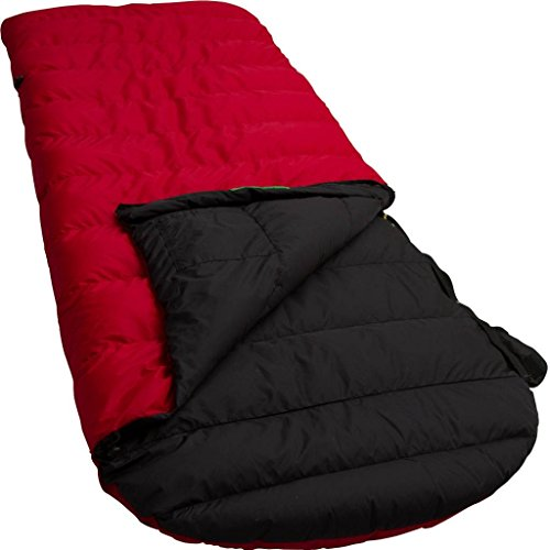 LOWLAND OUTDOOR®│Sacs de couchage duvet canard │Ranger Comfort │230x80 cm │Nylon │ 0°C