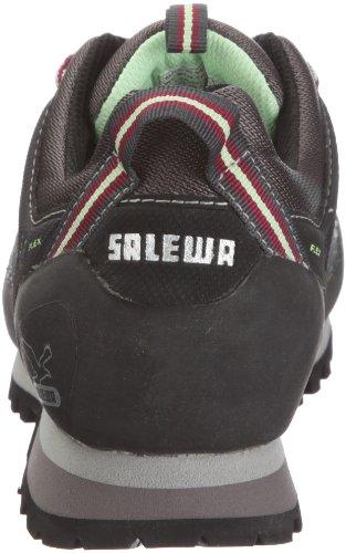 SALEWA W ALP TRAIN.MID GTX-PELL Damen Trekking- & Wanderstiefel Schwarz/Carbon/Mint