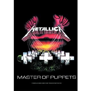 Metallica Poster Fahne Master of Puppets