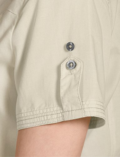 Jack wolfskin beyond t-shirt w chemisier pour femme Blanc - Sable