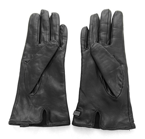 Zerimar Glatten Qualität Lederhandschuh für Frauen. Maßnahmen: 7M 100% natürlich.