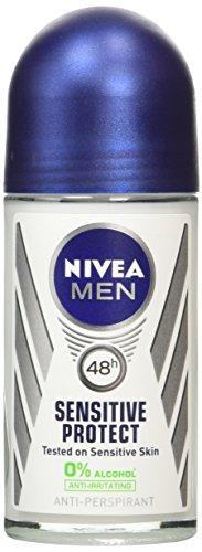 Nivea Men Sensitive Protect 48h Anti-Perspirant Deodorant Roll-on, 50ml