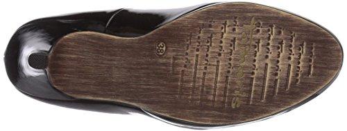 Tamaris - 22417, Scarpe Col Tacco da donna Nero (Schwarz (Black Patent 018))