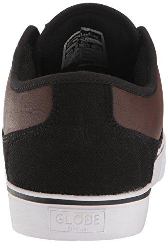 Globe  Mahalo,  Scarpe da skateboard uomo Black Twill/Brown