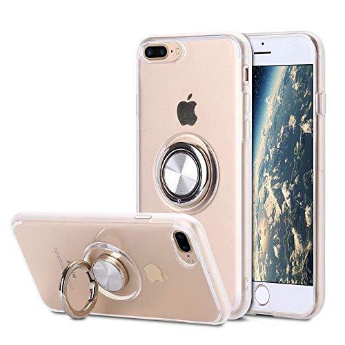 SORAKA Funda Transparente iPhone 7 Plus iPhone 8 Plus,con