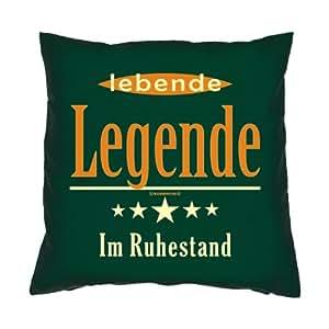 kissenbezug lebende legende im ruhestand f r r stige rentner zum geburtstag opa geschenk. Black Bedroom Furniture Sets. Home Design Ideas