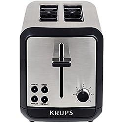 Grille pain KRUPS 2 fentes - 850W SAVOY KH311010