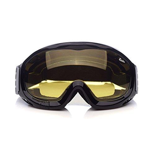 Lunettes anti-brouillard avec bordure éponge et bandeau élastique réglable