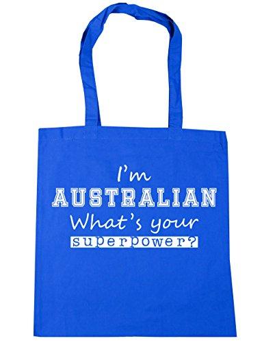 hippowarehouse-bolsa-de-playa-de-algodon-mujer-azul-azul-12934-tote-cornflower-blue