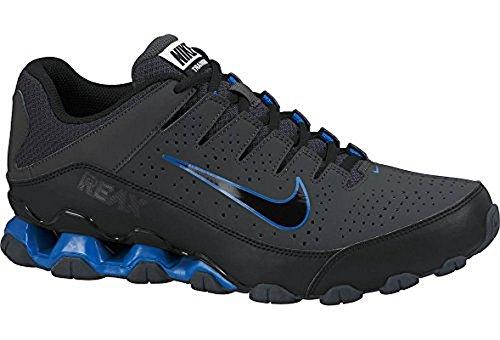 Nike BW2Sports Golf Reax 8TR Scarpe da Corsa Training, Nero (Anthracite/Black-Military Blue), 44.5 EU