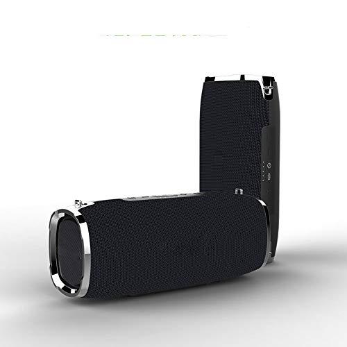 Tragbarer, kabelloser Bluetooth-Lautsprecher, bruchsicherer, wasserdichter und staubdichter Riemen für den Außenbereich, hohe Leistung, 6000 mA-Leistung, integriertes Mikrofon, geeignet für Reisen