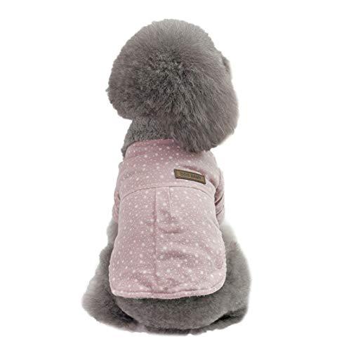 Lisay Mode niedlichen Tier Overall Dress Hundekleidung Bulldogge Dicke Kleidung Atmungsaktiv Verkleidungen Herbst Winter Puppy Kostüme Haustier - Bubble Puppy Kostüm