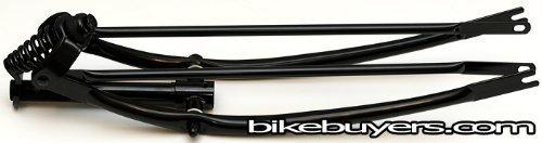 Fito Springer Gabel, lang, schwarz, Made in Taiwan, für 66cm Beach Cruiser Fahrräder Fahrräder von Fito