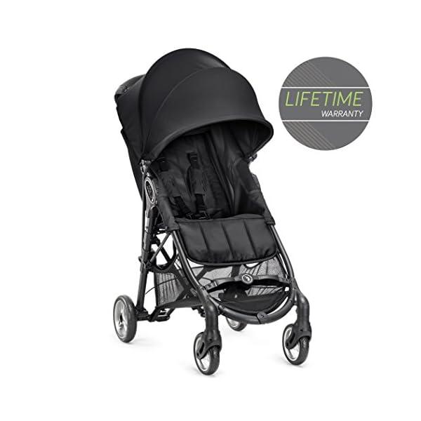 Baby Jogger City Mini Zip Single Stroller Black Baby Jogger  1