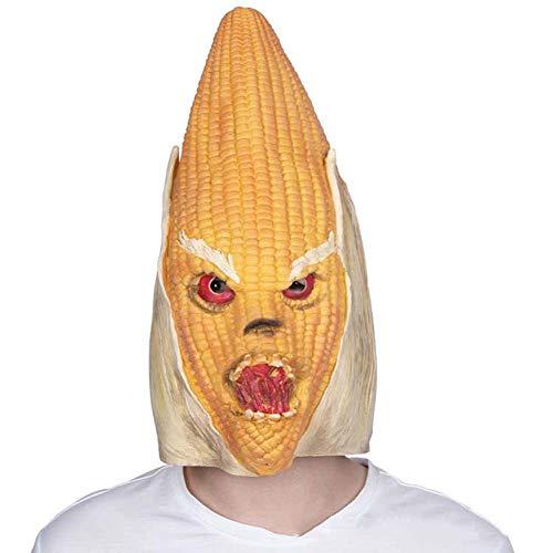 HOQTUM Halloween Maske Umweltfreundliche Latex Mais Monster Vollgesichts -
