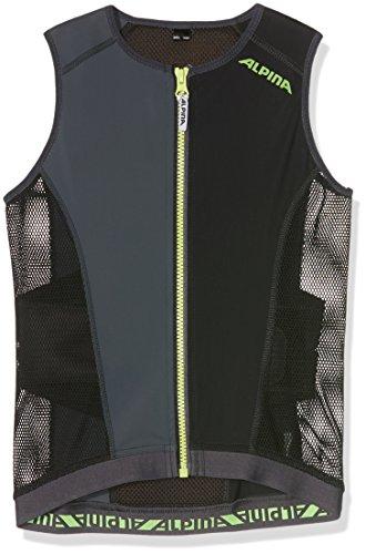 Alpina Kinder Rückenprotektor JSP Vest, Black, 128/134, 8861 2 30
