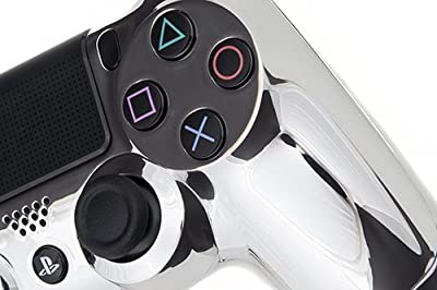 Playstation 4 Custom Controller - Chrome Silver