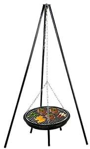 Grand barbecue Lorrain à balancelle Diam. 70 cm