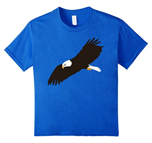 kids-awesome-bald-eagle-t-shirt-boys-girls-kids-child-8-royal-blue