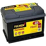 Fulmen - Batería para coche FB602 12V 60Ah 540A - Batería(s)