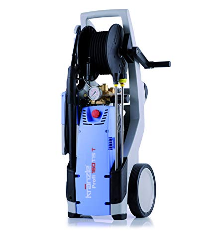 Kraenzle Profi 160TS T Nettoyeur haute pression, châssis vertical, électrique, 660 L/H, 3200W, noir/bleu