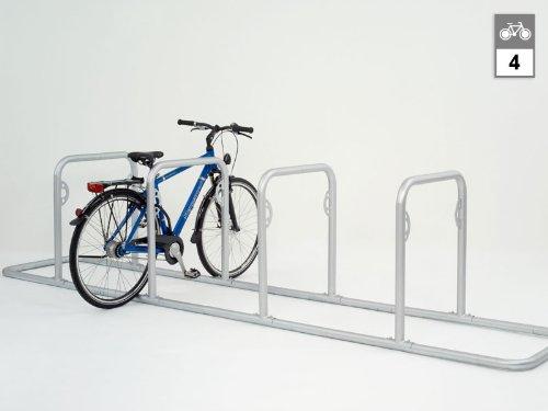 Fahrradständer - Anlehnsystem GALAXY 32 mit 2 Holmen (4 Einstellplätze)