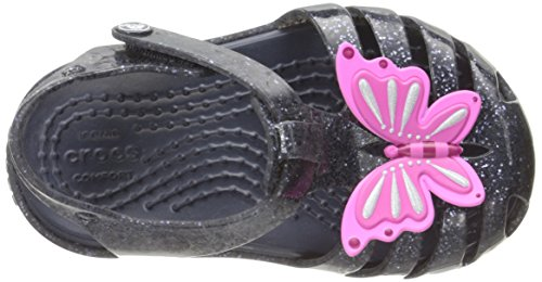 Crocs 204529, Sabots Fille Bleu (Navy)