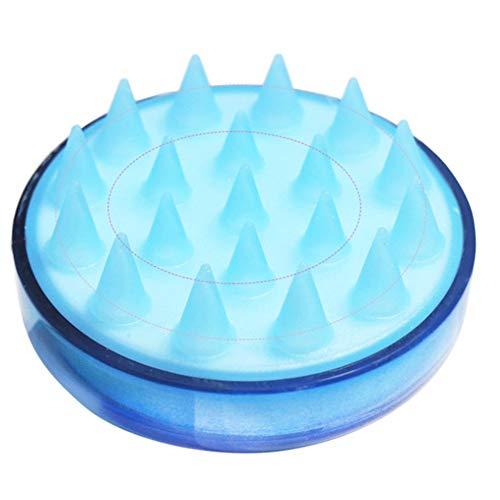 BlackEdragon Silikon Kopf Körper Shampoo Kopfhaut Massagebürste Kamm Haar Waschen Kamm Duschbürste Bad Spa Abnehmen Massagebürste -