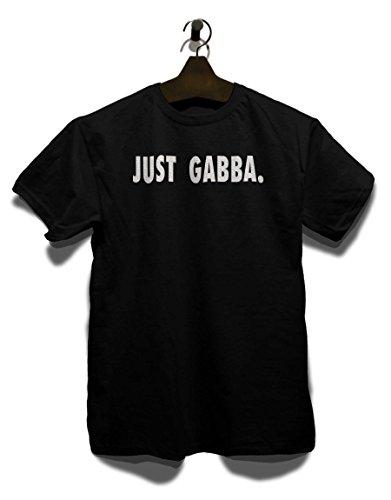 Just Gabba T-Shirt Schwarz