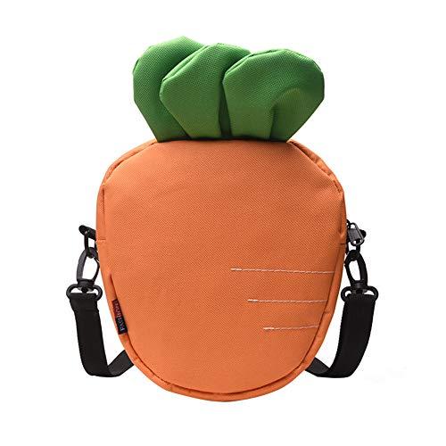Kostüm Salz Für Erwachsenen - Outflower Lustige kleine Tasche/Trend koreanische Version der Wilden Kuriertasche/niedliche Karotten-Segeltuchtasche des Mädchens