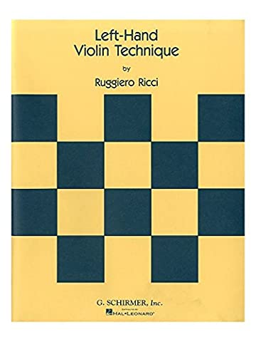 Ruggiero Ricci: Left Hand Violin Technique. Für Violine