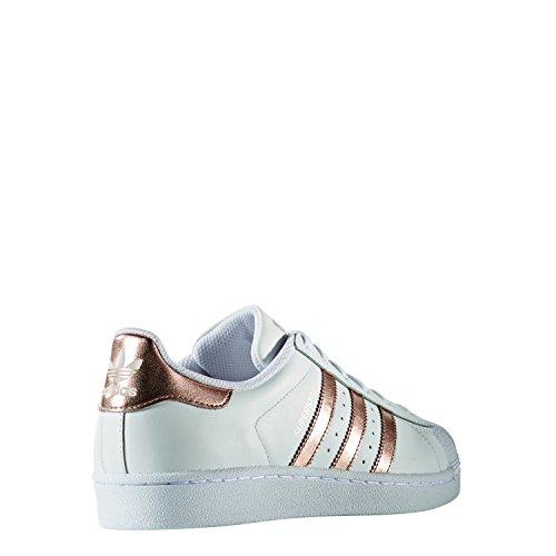 Adidas Superstar Damen Sneaker Weiß - 3