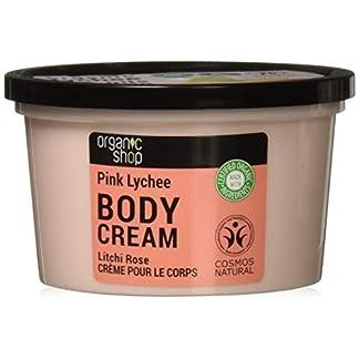Organic Shop Lichi Rosa Crema Corporal – 250 ml