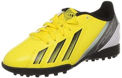 adidas Performance F5 TRX TF J G65451, Jungen Fußballschuhe, Gelb (VIVID YELLOW S13/BLACK 1/GREEN ZEST S13), EU 36  (UK 3,5)