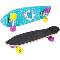 Hudora - Monopatín, Unisex Adulto, Skateboard, 12150, Multicolor, Medium