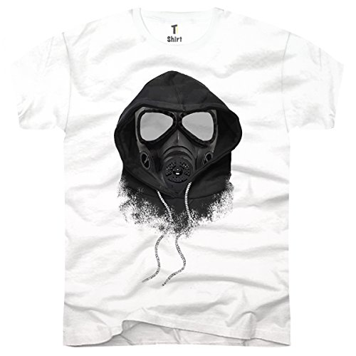 TEE-Shirt, Men T-Shirt Gas-Maske Size ()