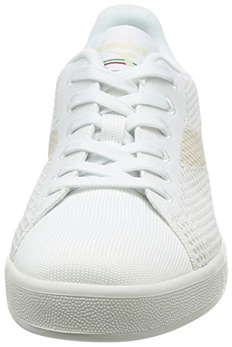 Diadora Game Weave, Sneakers Basses Homme Bianco