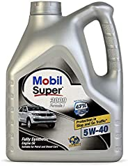 Mobil 1 Super 3000 Formula I 5W-40 Fully Synthetic Engine Oil (3.5 L)