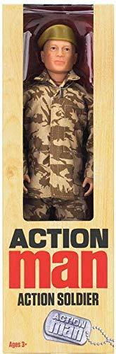 Action Man Man - Soldier Limited Edition Abbildung, Feiern DREI der populärsten Figuren Aller Zeiten !!
