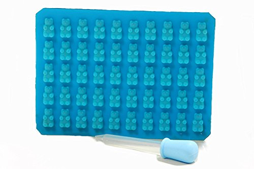 helpcuisine-kitchen-50-cavity-gummy-bear-candy-mold-with-easy-fill-jello-shot-syringe-50-mini-gummy-