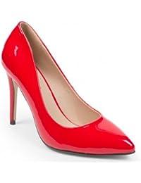 Ideal ShoesAshley –Zapato de mujer, clásico