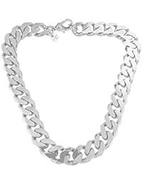 091aecf8807d Collar o Pulsera Cadena Gourmette 18k oro doublé joyeria desde la fábrica  italiana tendenze regalo mujer