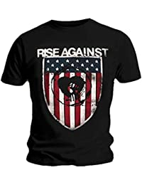 Official T Shirt RISE AGAINST Heart Fist SHIELD Logo All Sizes