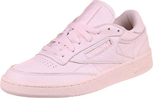 Reebok Club C 85 ELM, Sneakers Basses Homme, Rose
